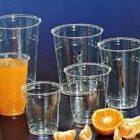 aristea 1000 bicchiere rigido in plastica 400 CC per acqua bevande cocktail succo succhi di frutta da bar