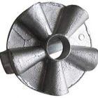 Stampo forma presso fusa in alluminio con maniglia per rosetta pane soffiato 10 cm pressino panini
