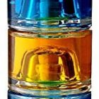 Bottiglietta bottiglia vetro sovrapponibili impilabili decorazioni per liquore limoncello 200 ml 3 Pezzi