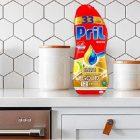 Pril Gold Gel lavastoviglie Sciogli Grasso Limone & Lime, Detersivo lavastoviglie con sgrassatore attivo, 264 lavaggi, 8 x 600 ml