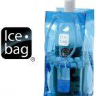 Ice bag basic blu secchiello borsa portaghiaccio porta bottiglia vino spumante