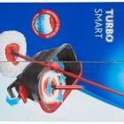 Vileda New Mocio turbo smart con secchio a pedale + 3 ricambi inclusi in microfibra