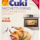 Cuki sacchetti cottura dietetica senza grassi, forno, cucina - pacco da 8 pezzi 25 x 38 cm