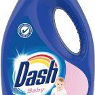 Dash detersivo liquido baby 18 lavaggi, lavatrice dermatologicamente testato per le pelli sensibili - 990 ml