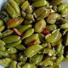 Schiaccia olive a leva artigianale in legno di faggio massello (Appoggio retto)