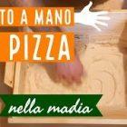 Euroshoppingonline Madia Maddia maidda siciliana impasto lievitazione pane pizza in Legno lamellare Personalizzabile con Nome Foto CM: 40x40x20H(Pane Fatto in casa)