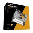 Batteria Li-Ion graffette e sparachiodi Batavia 18V Collezione Maxxpack 60 Chiodi minuto cucitrice/inchiodatrice