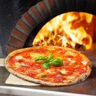 Euroshoppingonline Pala Pizza in Legno Naturale Multistrato Personalizzabile Professionale 80 cm con Manico Boss della maddia maidda Madia Adatto per Forno casa Pane rustici