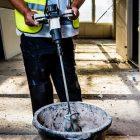 Betoniera per impastare il cemento Batavia 18V Li-Ion Universal Mixer  Collezione Maxxpack Miscelatore universale