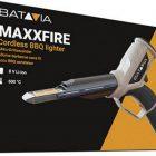 Maxfire 2,000W 8v LI-ON ccendino per BBQ con luce è 5 tempi di ricarica.  grill Batavia