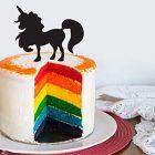 Topper per Torta Unicorno Decorativa 23x23 cm 8057432909779