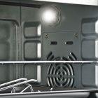 Forno elettrico ventilato Lampada interna fe20 Girmi Termostato regolabile da 100° a 230°C  8058150118634